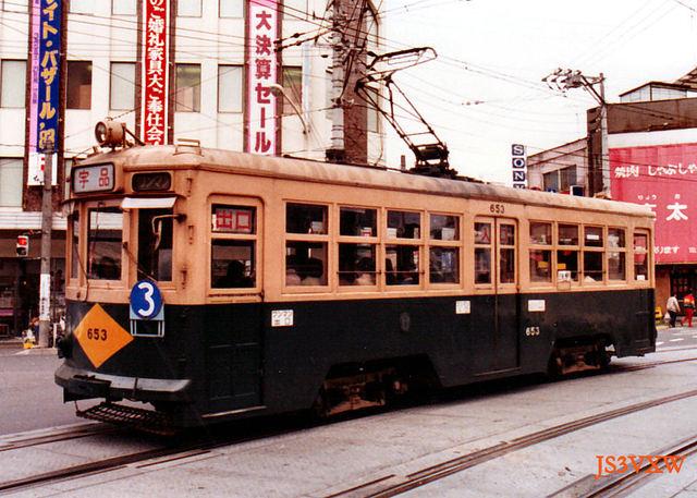 広島電鉄_市内線_650形 653
