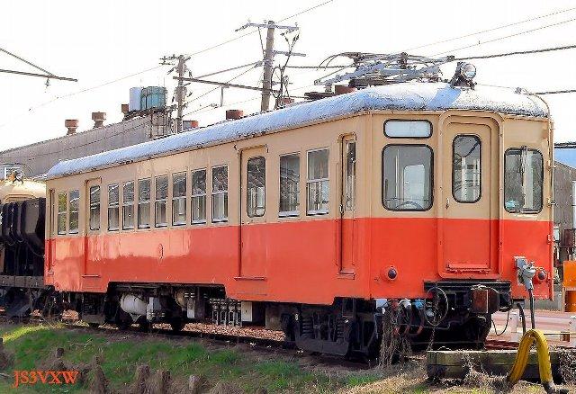 *北陸鉄道 モハ3750形 無番号 留置車