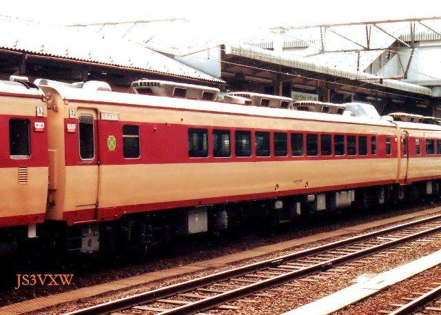 K 国鉄 特急用気動車-1 80系: 国...
