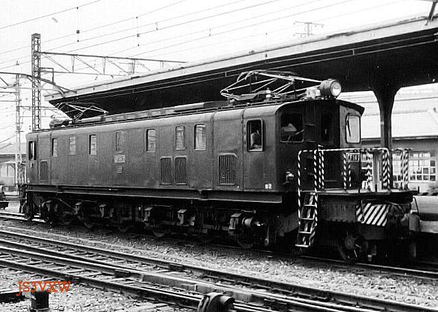 国鉄ED14形電気機関車