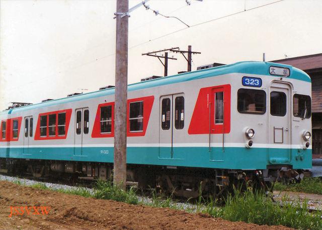 L1 上毛電気鉄道 100形  230系 300系 350系 ほか旧型車両