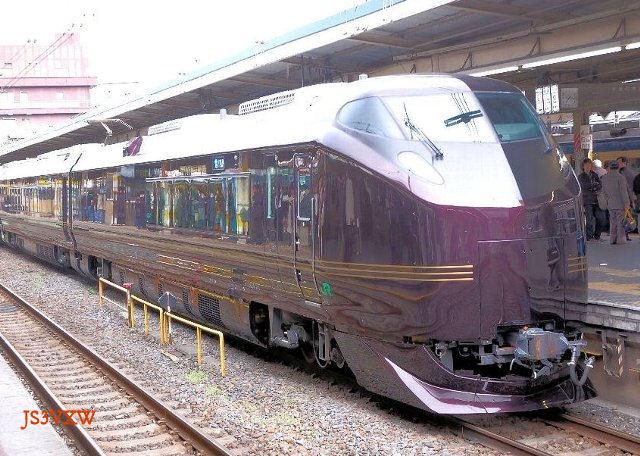 JR東日本 2007 E655系「なごみ(和)」① クロE654-101