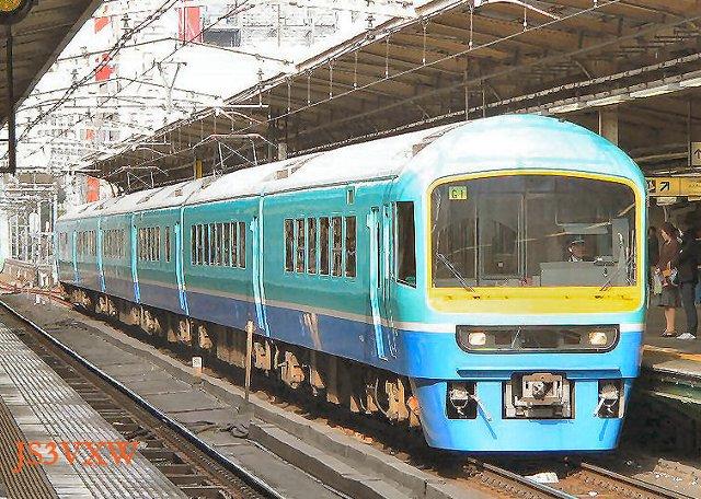 JR東日本 1998 ニュ-なのはな 幕張車両センター 6両編成