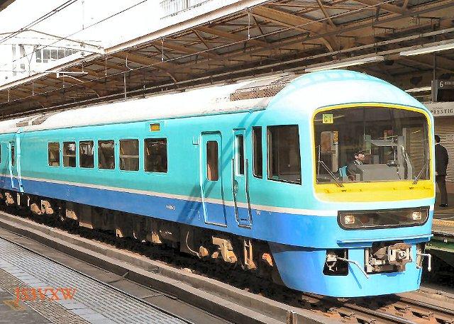 JR東日本 1998 ニュ-なのはな⑥ クロ485_3