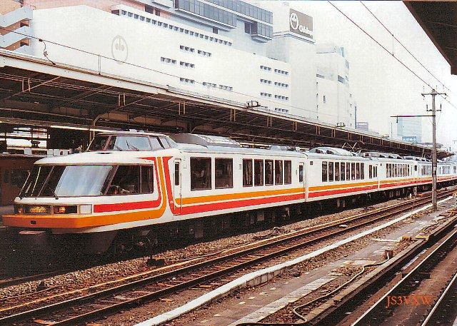 JR東日本 1987 パノラマエクスプレス アルプス 三鷹電車区 3両編成×2