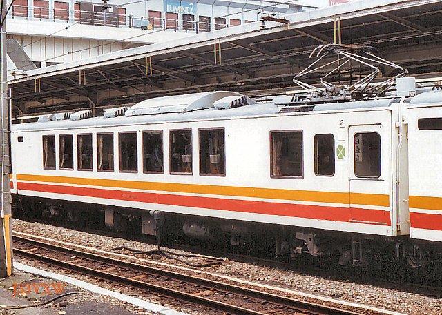 JR東日本 1987 パノラマエクスプレス アルプス② クモロ164_804