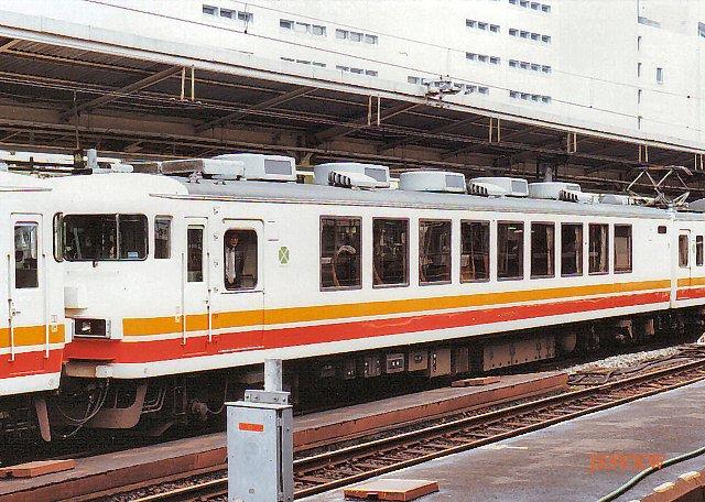 JR東日本 1987 パノラマエクスプレス アルプス④ クモロ165_3