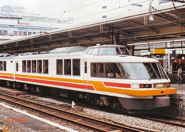 JR東日本 1987 パノラマエクスプレス アルプス⑥ クロ165_3
