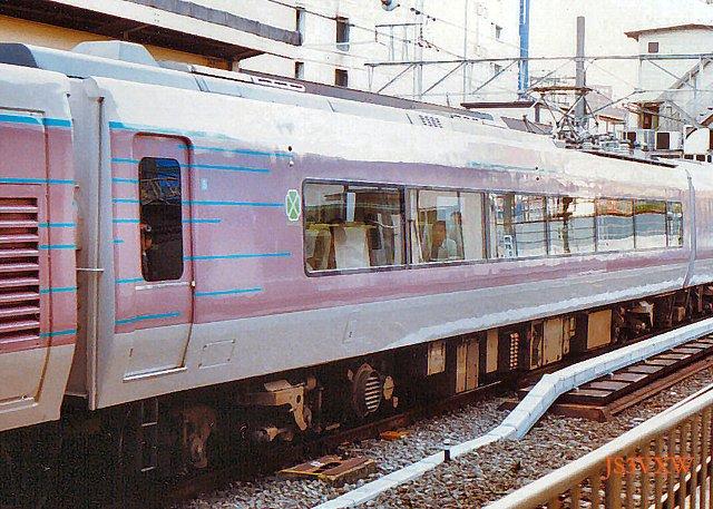 JR東日本 1991 リゾートエクスプレスゆう⑤ モロ484_2