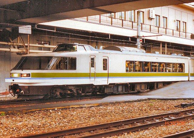 JR東日本 1990 シルフィード③ クロ484 1
