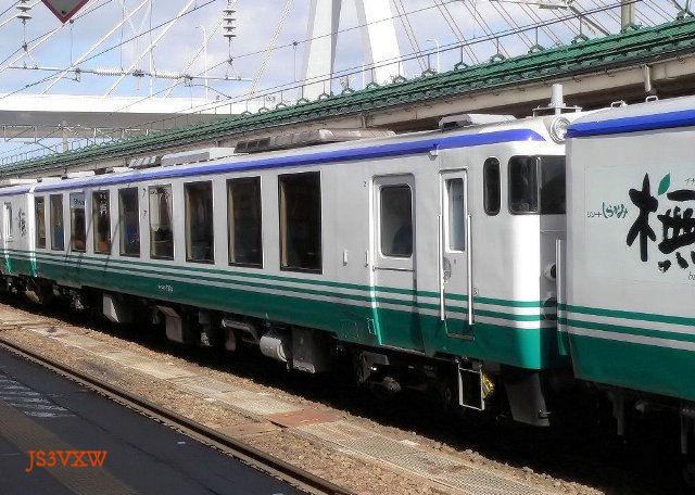 JR東日本 2003 リゾートしらかみ「橅(ブナ)編成」② キハ48-1701(運転台側)