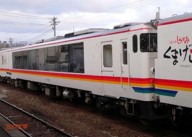 JR東日本 2006 リゾートしらかみ「くまげら編成」② キハ48-1521