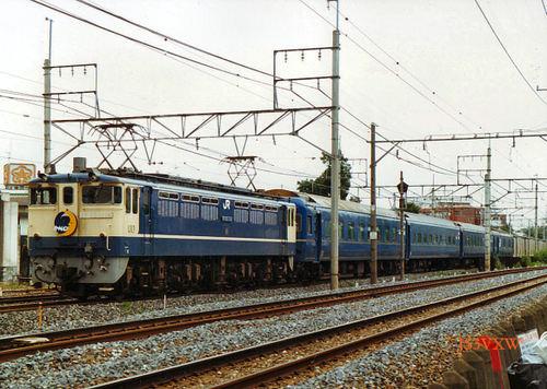 JR東日本 カートレイン EF65_1118