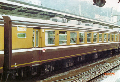 JR東日本 1983 くつろぎ(新塗装)⑤ 秩父 オロ12_844