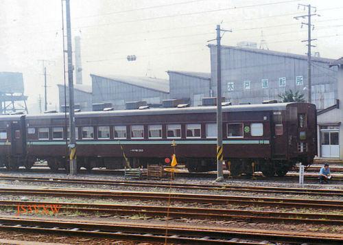お座敷列車(水戸 座) スロフ81 2113