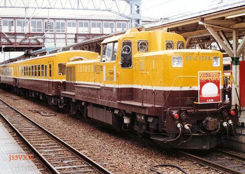 JR東日本 1990 ノスタルジックビュートレイン DE10_1204