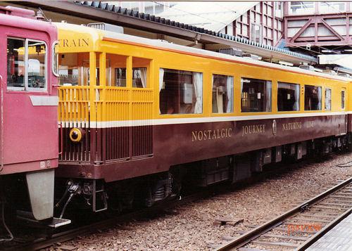 JR東日本 1990 ノスタルジックビュートレイン オハフ50_2501