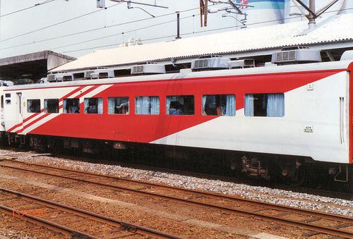 JR東日本 1987 スーパーエクスプレスレインボー② オロ14_714