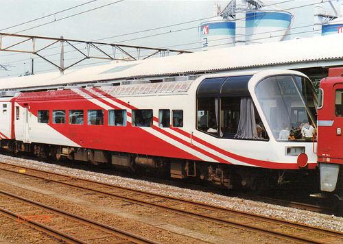 JR東日本 1987 スーパーエクスプレスレインボー⑦ スロフ14_706
