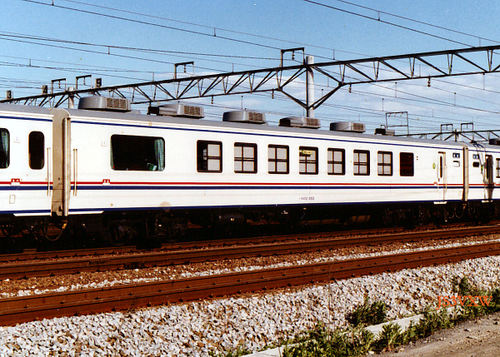 JR東日本 1986 やすらぎ③ 利根 オロ12_855