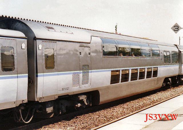 1989 JR北海道 クリスタルエクスプレス② キサロハ182 5101