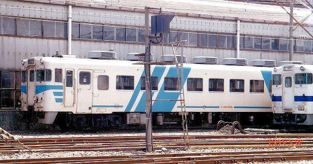 JR九州 キハ58系 キハ28形3000番台 キハ28-3015 鹿カコ 団体用列車「らくだ」号