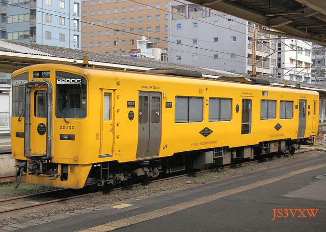 JR九州 H16 なのはなDX キハ220 1102