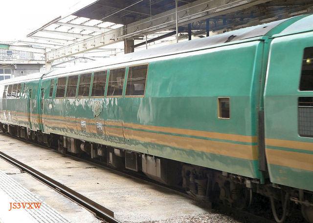 JR九州 H01 ゆふいんの森Ⅰ②  キハ70 1