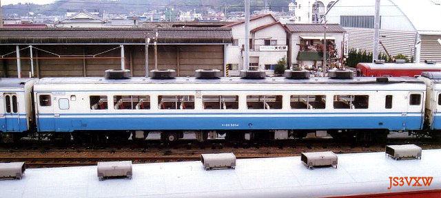 JR四国 58系急行形気動車 キハ28形5200番台 キハ28-5204 キロ28形改造車