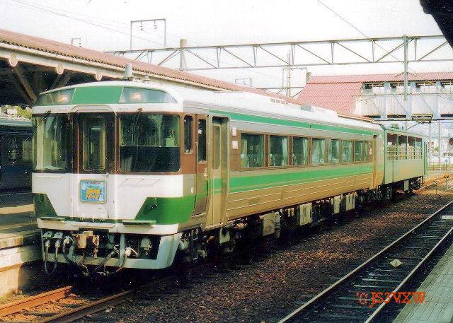 JR四国 1998 瀬戸大橋トロッコ用動力車兼控車 キハ185_20