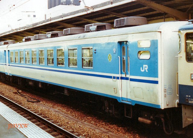 JR四国 1988 ムーンライト高知⑤ オロ12_10