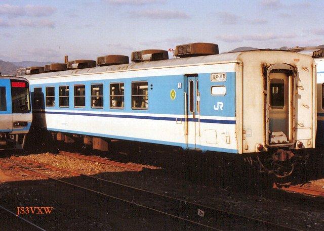 JR四国 1988 ムーンライト高知② オロ12_5