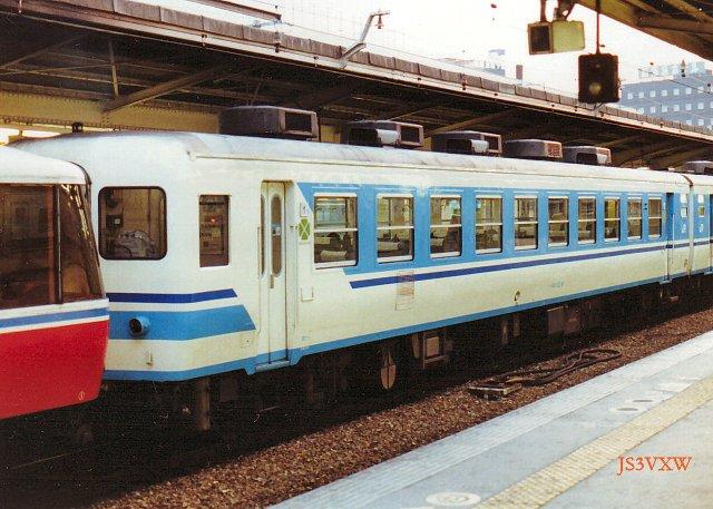 JR四国 1988 ムーンライト高知① スロフ12_6