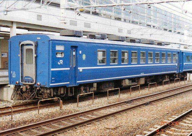 JR四国 1988 ムーンライト高知(従来塗装)⑤ オロ12_10