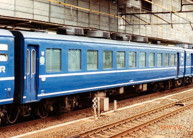 JR四国 1988 ムーンライト高知(従来塗装)④ オロ12_9
