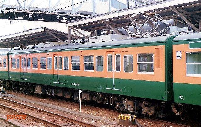 JR東海 115系 S4編成② モハ114形1000番台 モハ114-1163 静岡運転所