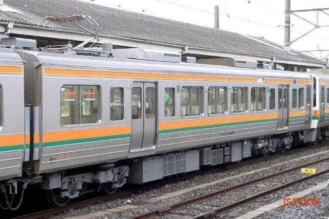 JR東海 213系 5000番台 H8編成① クモハ213-5008