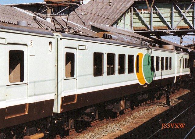 JR東海 1989 ゆうゆう東海② モハ164_701