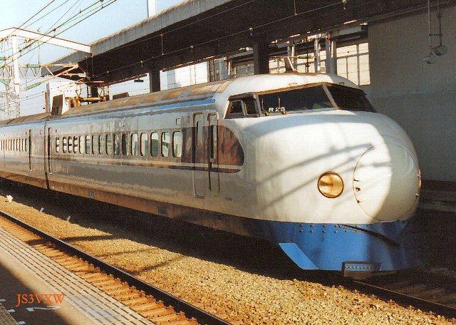 JR西日本 0系 R25編成⑥ 22-7033 アコモ改良車