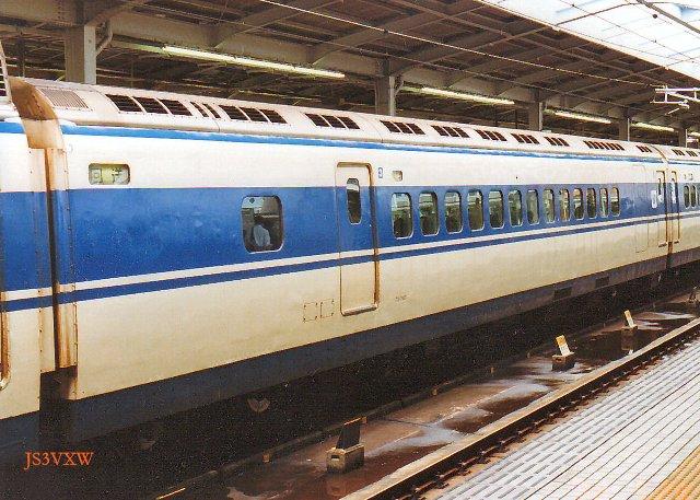 JR西日本 0系 Sk25編成③ 25-7005 ウエストひかり