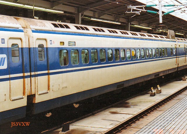 JR西日本 0系 Sk25編成⑩ 26-7008 ウエストひかり