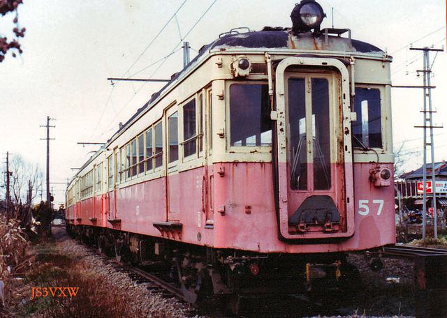 高松琴平電鉄 ① 長尾線志度線 旧50形 57