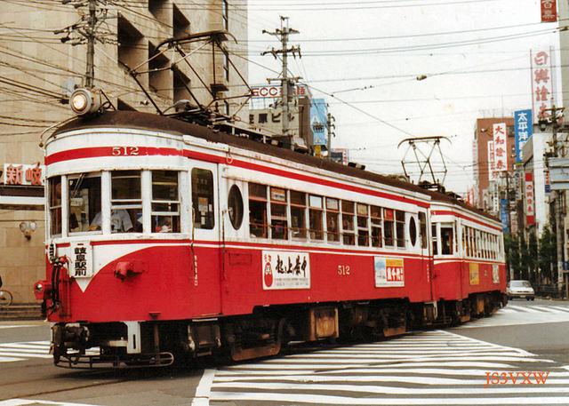 名鉄 揖斐線直通車 510形 512 旧塗装