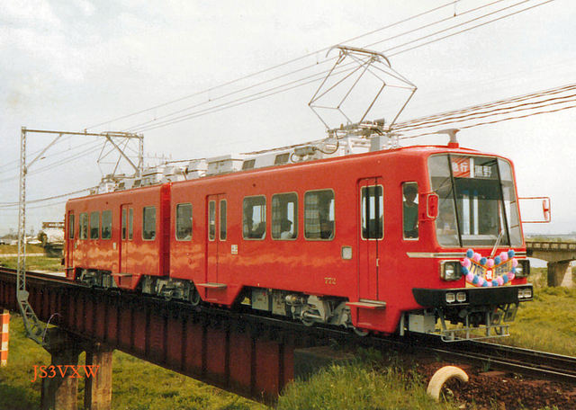 名鉄 揖斐線直通車 770形 772