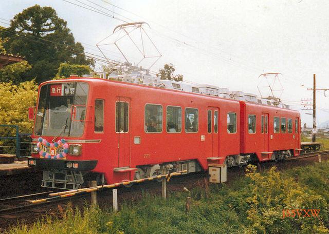 名鉄 揖斐線直通車 770形 773
