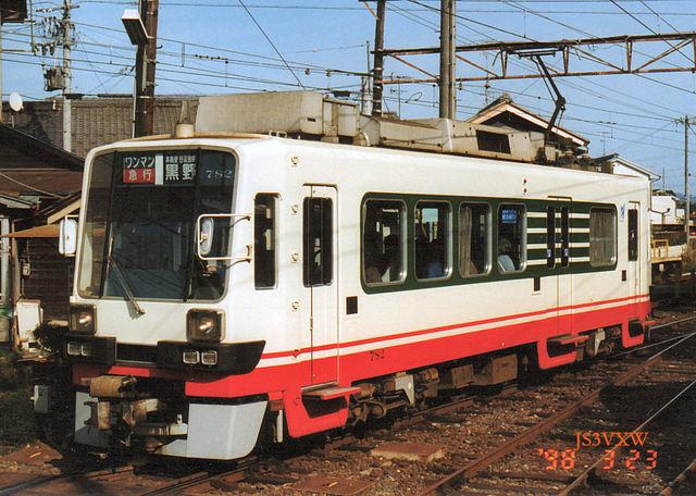 名鉄 揖斐線直通車 780形 782