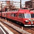 名鉄7500系パノラマカー なつかしの金山橋駅3
