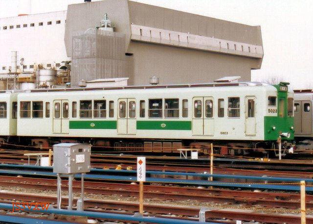 大阪市営地下鉄 50系23F 5000形 5023 中央線用