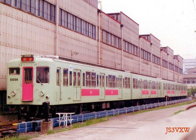 大阪市営地下鉄 50系56F 5500形 5556 千日前線用