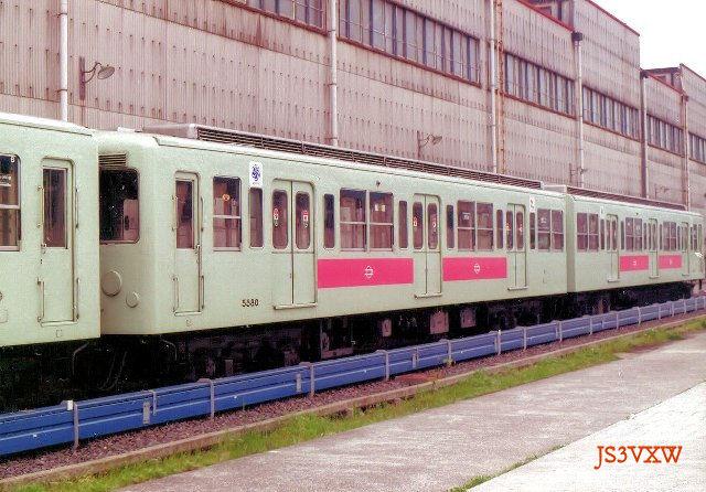 大阪市営地下鉄 50系80F 5500形 5580 千日前線用
